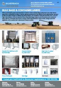 Dry Bulk Liners & Bulk Bags