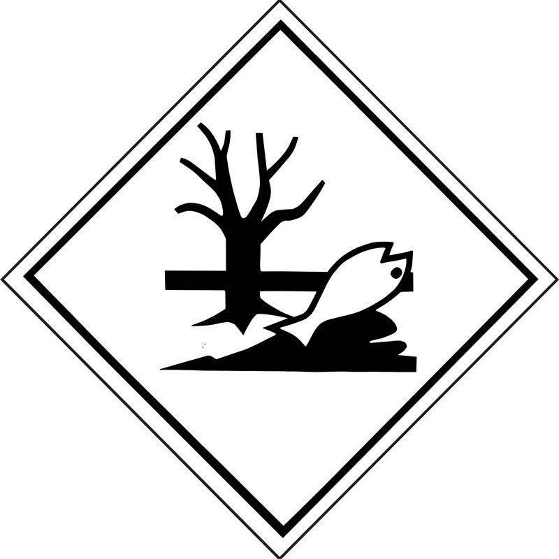250mm Marine Pollutant Sub-Risk Adhesive Label