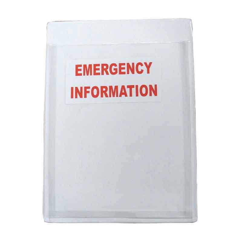 D/G Information Holder. A4 size. Soft Back Board