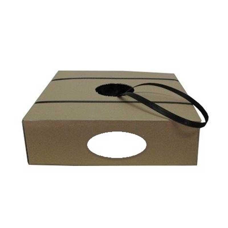 Polypropylene Strapping, Hand Grade H/D, 19mm x 1000m. Black
