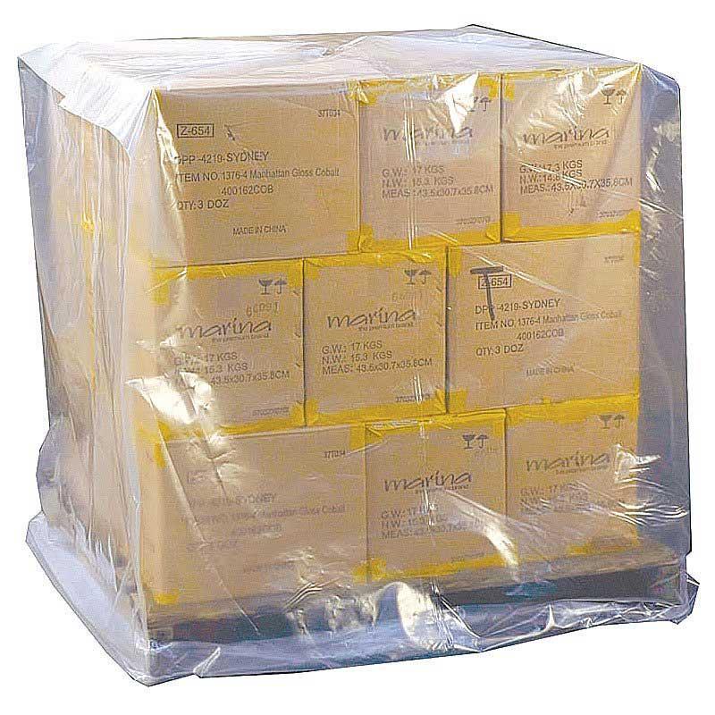 Pallet Covers Clear Plastic 50Um. Roll 75pcs