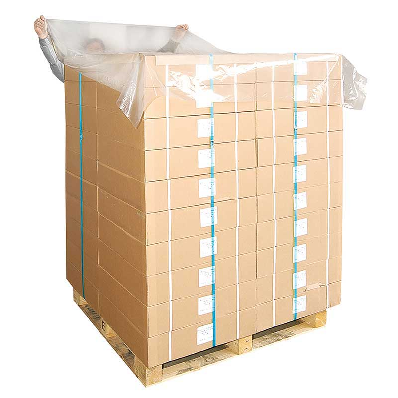 Clear Pallet Top Sheets. Roll 250 sheets