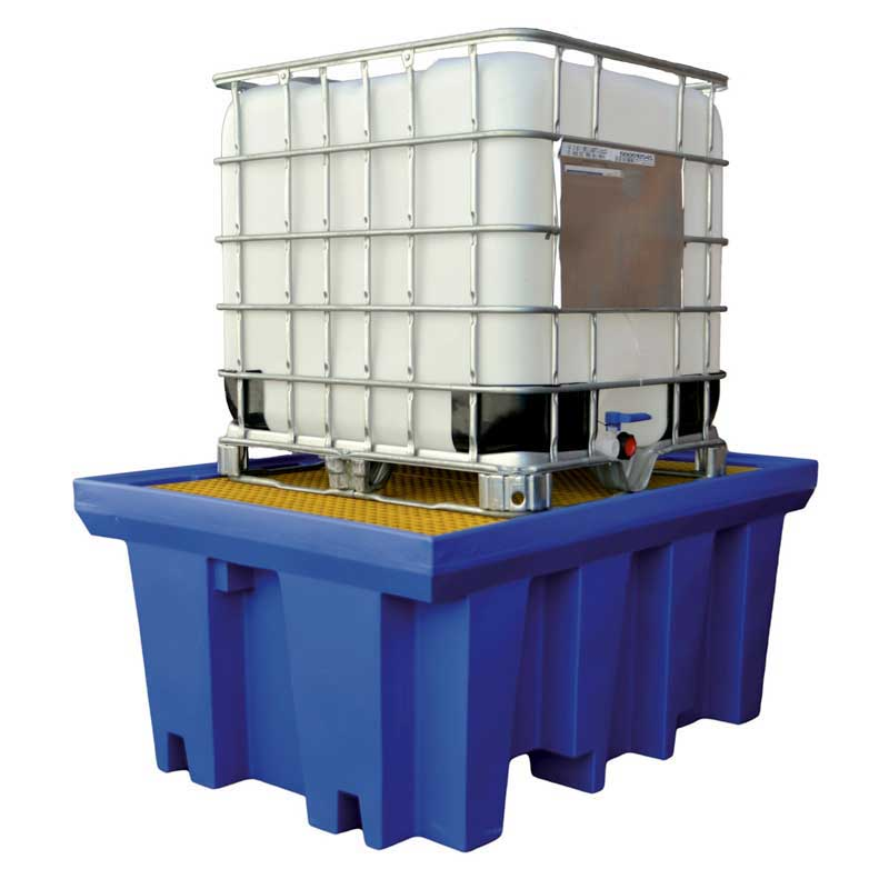 Single IBC Spill Containment Pallet - 1150L