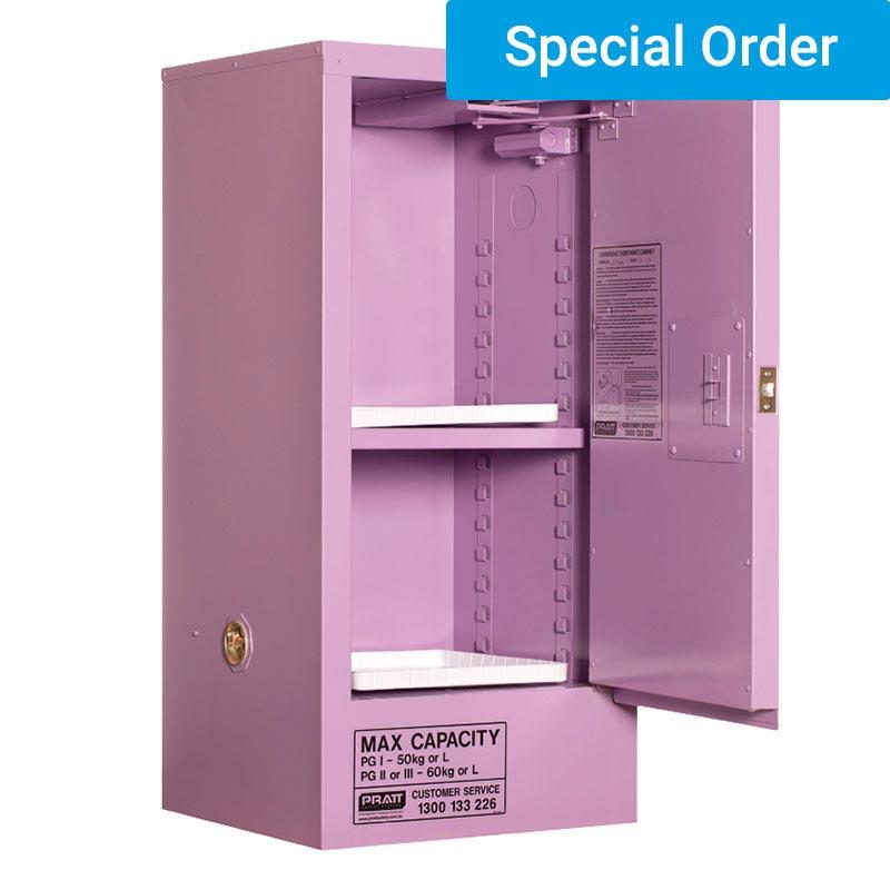 60L Corrosive Substance Storage, 1 Door/2 Shelf