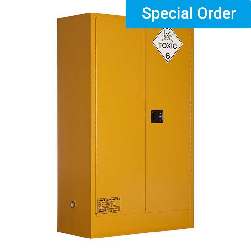 250L Toxic Substance Storage, 2 Door/3 Shelf