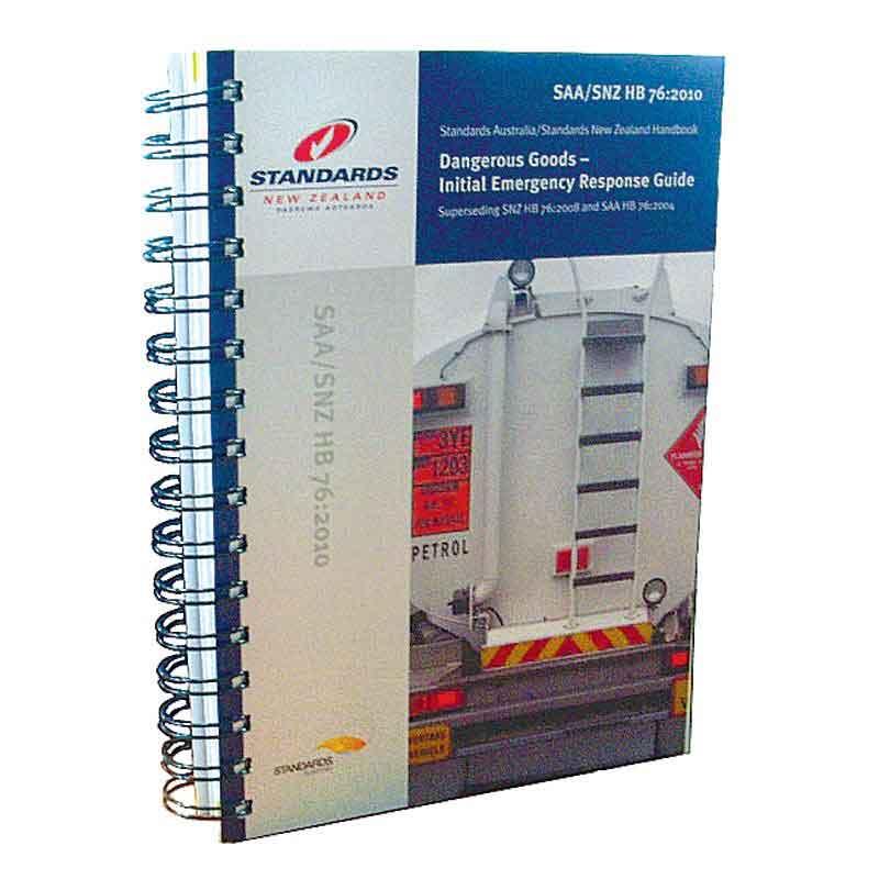 Dangerous Goods Emergency Response Guide (HB76)