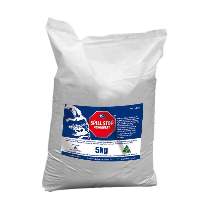 Spill Stop Mineral Absorbent, 5kg Bag