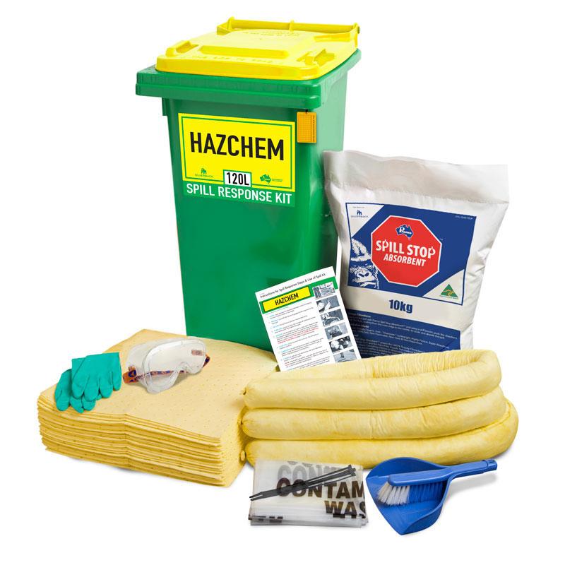100L Hazchem Prenco Spill Response Kit