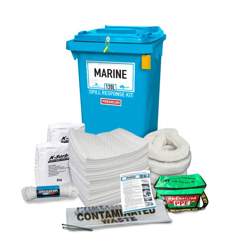 100L Marine Prenco Premium Spill Response Kit