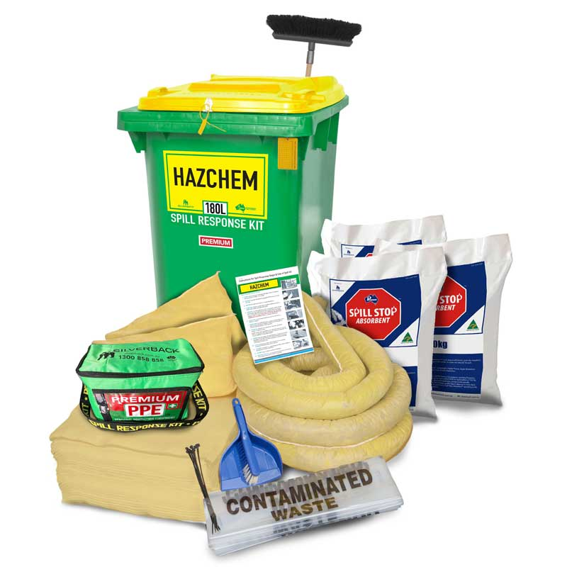 180L Hazchem Premium Prenco Spill Response Kit