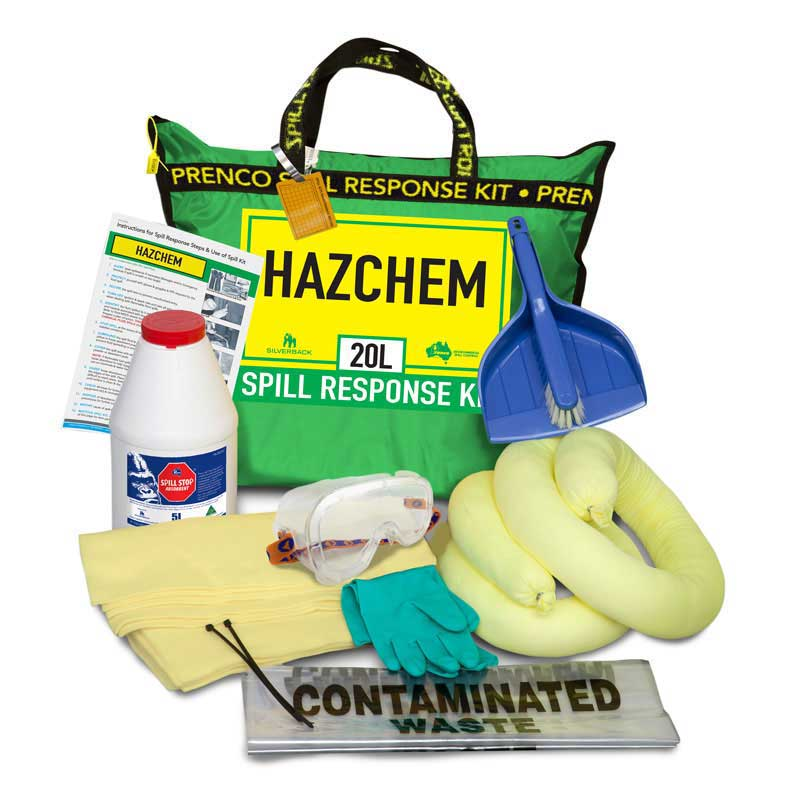 20L Hazchem Compact Prenco Spill Response Kit