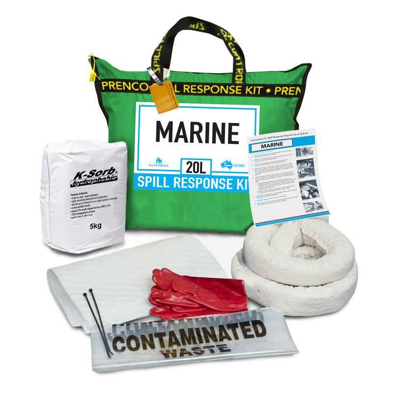 20L Marine Compact Prenco Spill Response Kit