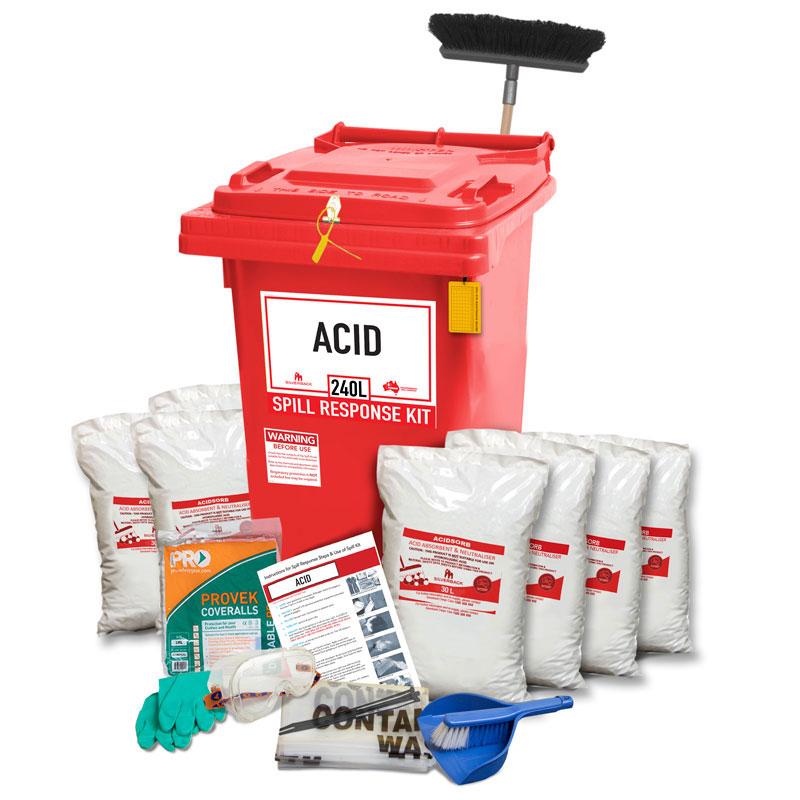 220L Acid Neutralising Prenco Spill Response Kit