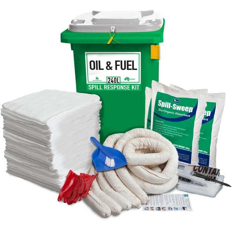 240L Oil & Fuel Prenco Spill Response Kit