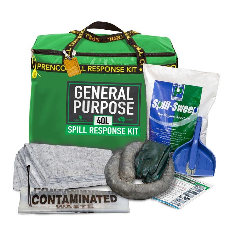 40L General Purpose Compact Prenco Spill Response Kit