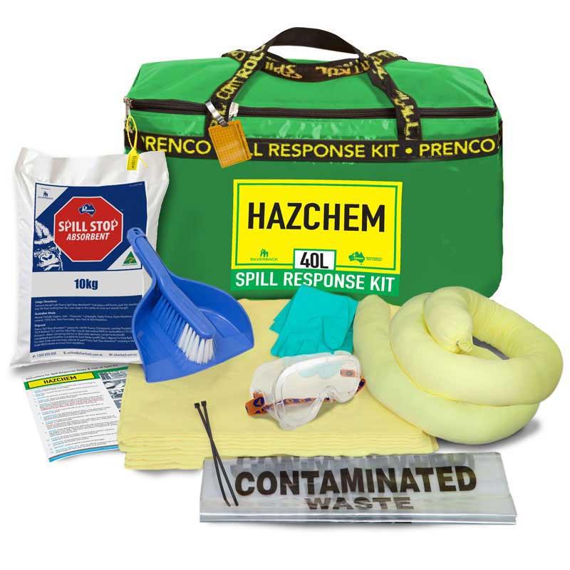40L Hazchem Compact Prenco Spill Response Kit