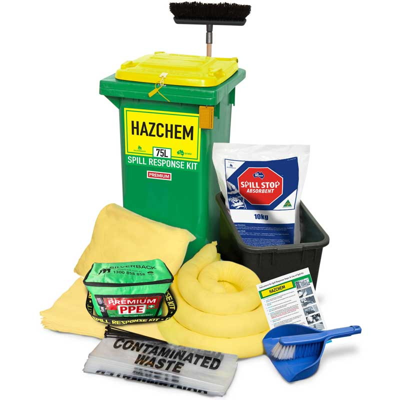 75L Hazchem Prenco Premium Spill Response Kit
