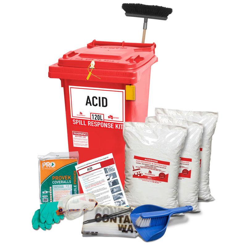 100L Acid Neutralising Prenco Spill Response Kit
