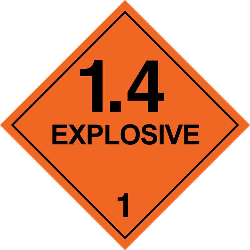 Dangerous Goods Class 1.4 Explosives
