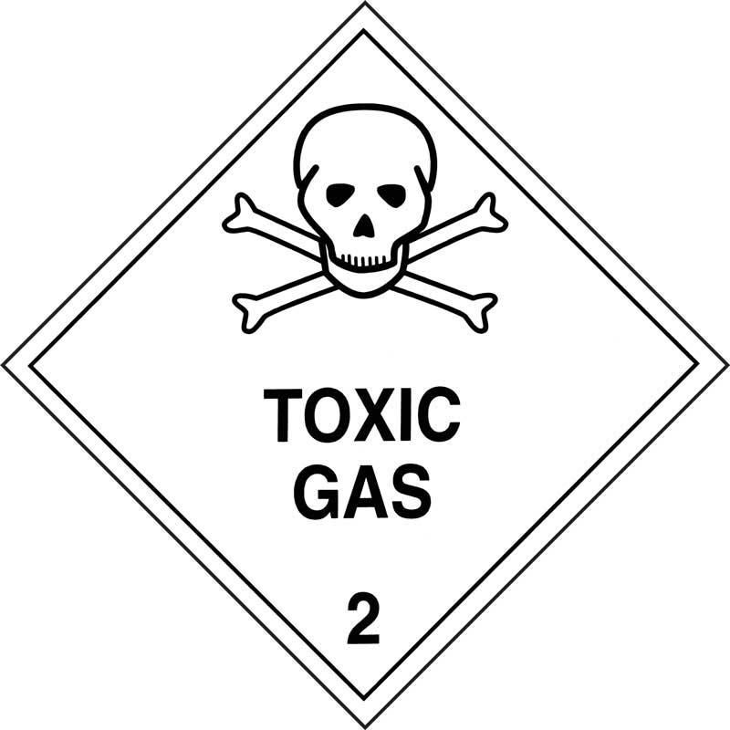 Dangerous Goods Class 2.3 Toxic Gas
