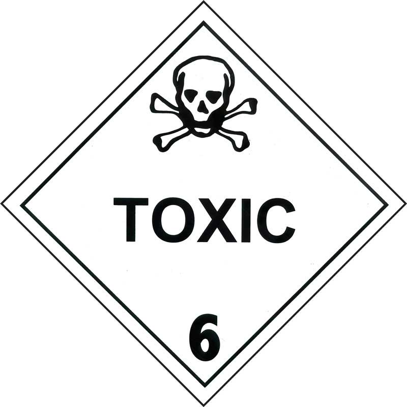 Dangerous Goods Class 6.1 Toxic Substance