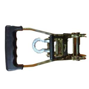2nd Hitch Buckle  LC 2500kg. PASSIVATED YELLOW