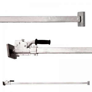 Cargo Bar, Square with Ratchet, 2200mm to 2900mm