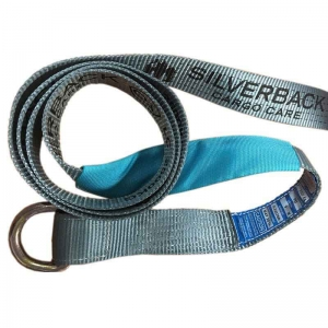 2.4Mt x 50mm, LC 2500kg - 2nd Hitch Strap With Rated D-Ring at one end.