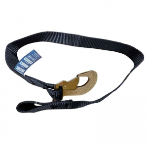 0.9Mt x 50mm, LC1360kg - Reefer/Container/Trailer Door Safety Strap With Loop &