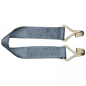 0.6Mt x 50mm, LC 500kg. Container/ Trailer Door Safety Strap with 2 x J Hooks. S