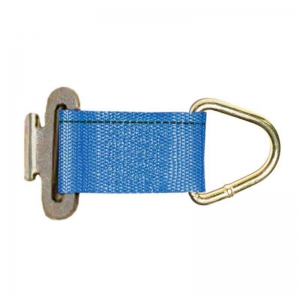 150mm x 50mm F Track Rope Tie Off Fitting, 450kg  750kg LC    BLUE.