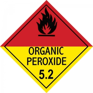 250mm Class 5.2 Organic Peroxide