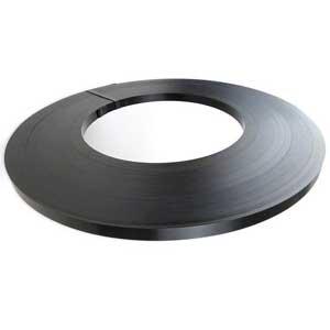 19mmW x 0.50mm Ribbon Wound Steel Strapping - 15kg per roll