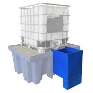 Single IBC Dispensing Well
