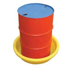50L 1 Drum Round Drip /  Spill Tray