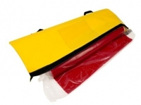 Drain Seal Protection Mat, 900mm x 900mm x 5mm. Red Polyurethane  Includes carry