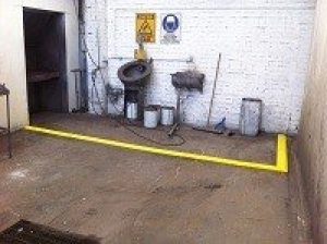 Spill Barrier Containment Bund, EVA Sponge, 970mmL x 140mmW x 40mmH