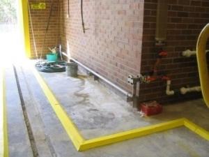 Spill Barrier Containment Bund, EVA Sponge, 970mmL x 280mmW x 24mmH