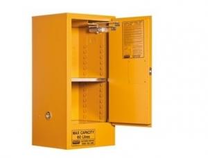 60ltr Flammable Liquid Storage Cabinet. 1 door 2 shelf.