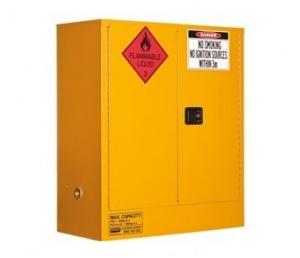 160L Flammable Liquid Storage, 2 Door/2 Shelf.