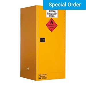 350L Flammable Liquid Storage, 1 Door/3 Shelf