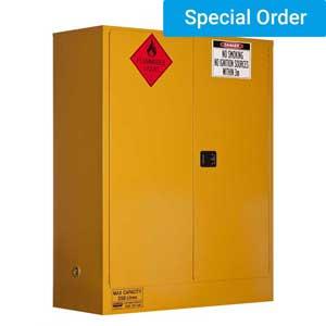 350L Flammable Storage Cabinet  2 Door, 3 Shelf