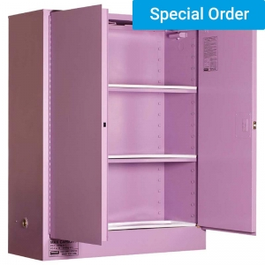 350L Corrosive Substance Storage, 2 Door/3 Shelf
