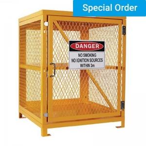 Aerosol Storage Cage. Single Shelf 2 Storage Levels. Holds Up To 200 Cans. (Asse