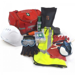 Driver Emergency Response Kit (ERK). Sold as complete kit in RED bag with handle