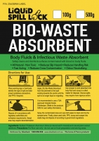 Liquid Spill Lock Bio-Waste Absorbent , 500gms