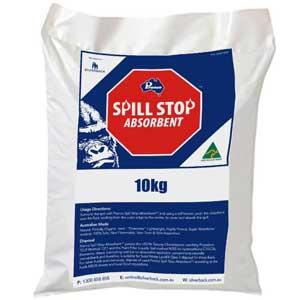 Spill Stop Mineral Absorbent, 10Kg Bag