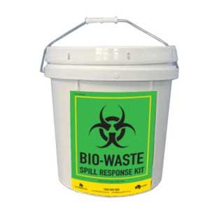 Compact Bio-Waste Spill Response Kit. 15L Bucket.