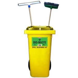 Bio-Waste Prenco Spill Response Kit 240L Bin