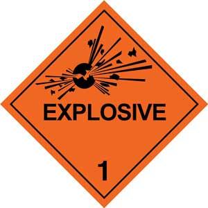 Dangerous Goods Class 1.1 Explosives